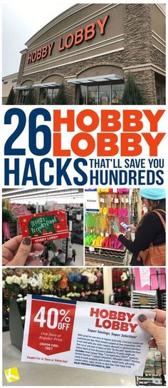 Ideas About DIY Life Hacks & Crafts 2017 / 2018 Learn how to use coupons and discounts to save at least (or up to at Hobby Lobby. Save more money with these smart hacks. -Read More – Saving Ideas, Saving Tips, Saving Money, Money Savers, Ways To Save Money, Money Tips, How To Make Money, Money Hacks, Store Hacks