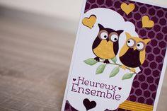 Une petite carte de St Valentin créée avec la perfo Chouette en kit, et utilisation du Stamp-a-ma-jig :D SOUS TITRES FRANCAIS DISPONIBLES ENGLISH SUBTITLES A...