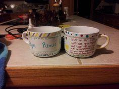 DIY creations. : Coffee Sharpie Cup