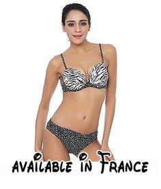 Thatch Maillot de bain pour femme Bikinis Maillots deux pièces Fashion Sexy,Stamp,L