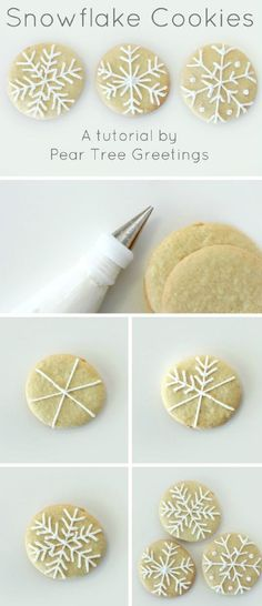 How To Make Snowflake Christmas Cookies - 17 Skillfully Decorated Christmas Cookies Which Will Spread Cheer Among Your Family