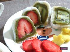 새빨간 딸기모찌