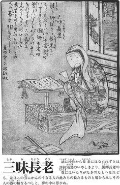 Shamichorõ Irezumi, Traditional Art, Japanese Art, Script, Drawer, Wave, Oriental, Printing, Asian