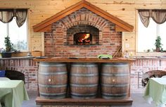 Wood Burning Brick Oven | Thousand Oaks Winery Wood Fired Pizza Oven