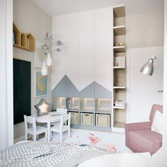 Interior Living Room Design Trends for 2019 - Interior Design Room Interior Design, Kids Room Design, Kids Bedroom, Bedroom Decor, Bedroom Furniture, Kids Room Organization, Bedroom Wardrobe, Kids Wardrobe, Baby Boy Rooms
