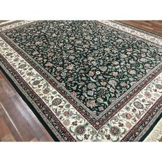 Safavieh Evoke Alie Framed Fl Rug 215 Cad Liked On Polyvore Featuring Home Rugs Dark Blue Polypropylene Flora