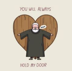 Forever in our hearts #gameofthrones #got #hodor