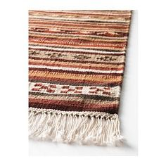 Love The Colors. Maks Might Chew The Fringe. :( KATTRUP Rug, Flatwoven