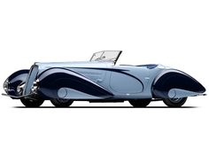 1937 Delahaye 135M Figoni et Falaschi - Glory days of automotive design: From Bugatti to Voisin, when vehicles didn't look like the Nissan Cube - NY Daily News