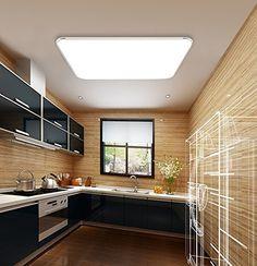 AuraLum 40W Panneau Led Plafond 4000K Lot de 2 120x30cm Ultraslim Dalle LED Blanc Naturel pour Maison//Bureau//Commercial Plafonnier LED
