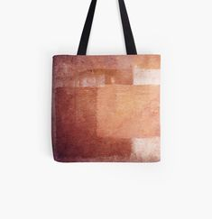 Moroccan colors tote bag | Durable, easy to carry shopping bag with sublimated print on both sides. Super strong 1 inch (2.5cm) wide cotton shoulder strap. Soft yet durable 100% spun polyester poplin fabric.  #desertcolors #abstract Moroccan Colors, Desert Colors, Poplin Fabric, Chiffon Tops, Hand Sewing, Shopping Bag, Shoulder Strap, Reusable Tote Bags, Strong