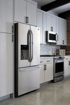 When decorating your kitchen, make sure all the appliances are up-to-date.