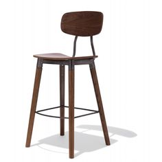 Public Bar Stool — The Public Bar Stool is contemporary design crafted using Scandinavian mid century design language.