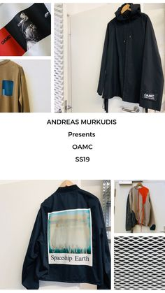 The atmosphere in ANDREAS MURKUDIS captures a freedom and tranquility that sets it apart from the usual, fast-paced retail world. Spaceship Earth, Adidas Jacket, Menswear, Digital, Jackets, Fashion, Down Jackets, Moda, Fashion Styles