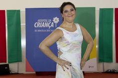 No final da passarela, Rafaela Rocha mostrou que também é uma top model.