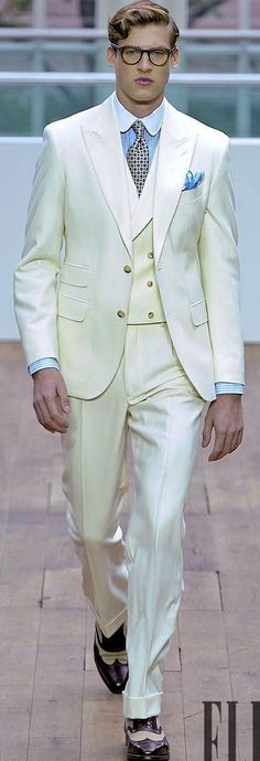 Classic Style Two Button Ivory Groom Tuxedos Groomsmen Mens Wedding Suits Prom Dress (Jacket+Pants+Vest+Tie) NO:219