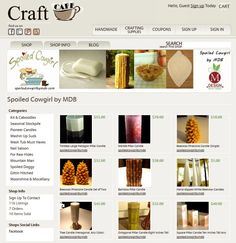 Craft Cafe: Building Your Handmade Online Empire {A Five Part Series} Tip #1 by @Melissa Machowski