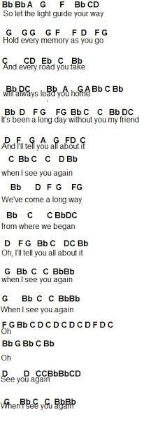 see you again piano pdf