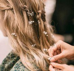 Paniculata hair style