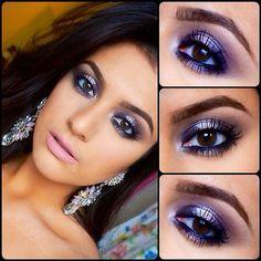 Makeup Ideas Love her brows & eye shadow & liner