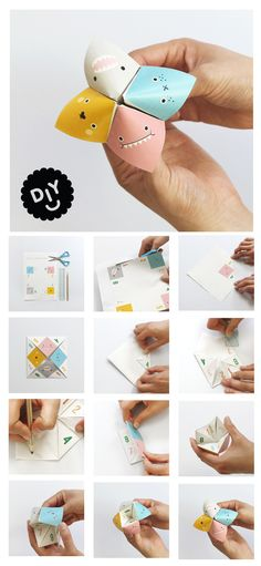 Bank Holiday DIY Noodoll chatter box DIY #diy #paper #printable #kids #playtime #funny #noodoll #monster #crafts #kidsinterior #toy #design #illustration #colour #pink #yellow #blue