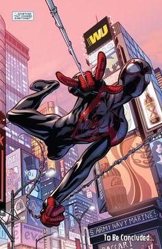 "Spider-Man/Miles Morales (Secret Wars: Ultimate End Spoilers ""Sigil-Crossgen"" #4 Cover by: Mark Bagley)"