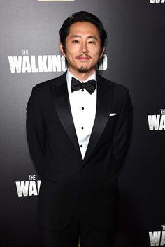 Steven Yeun - The Walking Dead Season Six Premiere