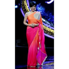 Bollywood Replica - Mandira Bedi Designer Cotton Silk Party Wear Saree - 9112 (IB-372)