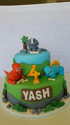 Dino cake for Yash