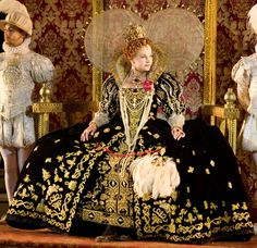 "Wow!!! Elizabeth I's Black Gown (""The Lost Colony"" at... 