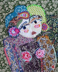Le printemps des tableaux textiles. | Le blog de Katherine Roumanoff
