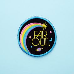 • 100 % brodé fer sur patch • 2,5 de diamètre • Made in USA