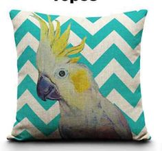 Parrot, #galah, cockatoo, major mitchell, australian #bird, printed #cushion cove,  View more on the LINK: 	http://www.zeppy.io/product/gb/2/321399987706/