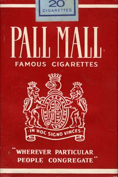 r/The_Donald: The_Donald is a never-ending rally dedicated to the President of the United States, Donald J. Vintage Cigarette Ads, Cigarette Brands, Cigarette Box, Vintage Ads, Vintage Posters, Pall Mall, Retro Ads, Recherche Google, Liquor