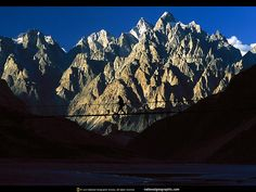 Karakoram Ranges from 50 miles away! Best moment of all my lifetime. My dreams end at K2.
