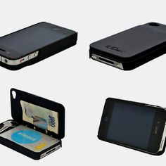 iLid Wallet Case for iPhone4S/4登場!