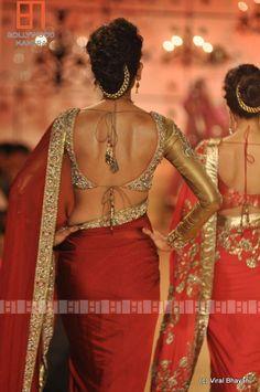 Manish Malhotra 2013.... Love the blouse
