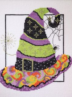 Just CrossStitch Halloween 2015 Just Cross Stitch for Halloween is a great resource for spooky and fun Halloween Designs to create. Get all the treats you want without any tricks. All things Halloween including owls, pumpkins, skulls, witches and everything in between.