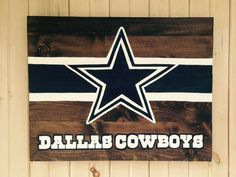 Nfl Dallas Cowboys Star With Font Reuseable Stencil