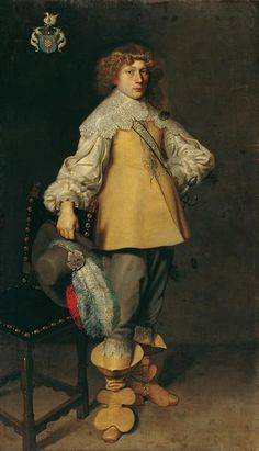 Gerard van Honthorst Portrait of a Young Man Holding a Plumed Hat - The Largest Art reproductions Center In Our website. Low Wholesale Prices Great Pricing Quality Hand paintings for saleGerard van Honthorst 17th Century Clothing, 17th Century Fashion, Classic Paintings, Old Paintings, Renaissance And Reformation, Anthony Van Dyck, Thirty Years' War, Civil War Art, Baroque Painting