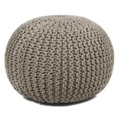 Pouf Foot ottomans are a great add on to any decor. They work as a foot rest or extra seating. They are filled with polyester fiber and recycled EPS filler. Cover is a cotton-poly faux suede and removable for easy care.