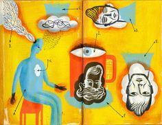 Cafe Gradiva: In interiorul halucinatiilor unui barbat cu Alzhei...