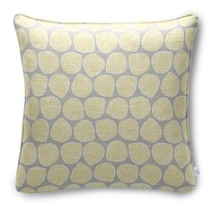 Welted Pillow in Shell Game Oyster | Maine Cottage