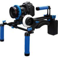 Canon 7D and Redrock Micro DSLR Field Cinema Deluxe Bundle Blue