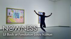 inspiring: Lil Buck at Fondation Louis Vuitton