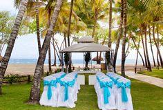 They get to witness this beautiful beach wedding. www.iberostar.com