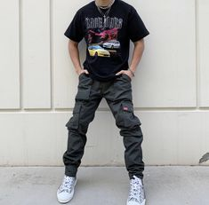 Sneaker Outfits, Indie Outfits, Retro Outfits, Stylish Mens Outfits, Casual Outfits, Street Casual Men, Sneaker Trend, Sneakers Mode, Teen Fashion