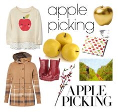 """Time to Pick Apples"" by cici-rahma on Polyvore featuring Bitossi, Crate and Barrel, Wyld Home, SOREL and Royal Robbins"