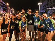 Participantes, profesores, madres, Alumni y alumnos, en Las Palmas Night Run 2016.