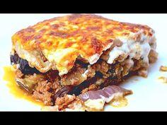 Muszaka - Az én alapszakácskönyvem - YouTube Lasagna, Bors, Ethnic Recipes, Youtube, Youtubers, Lasagne, Youtube Movies